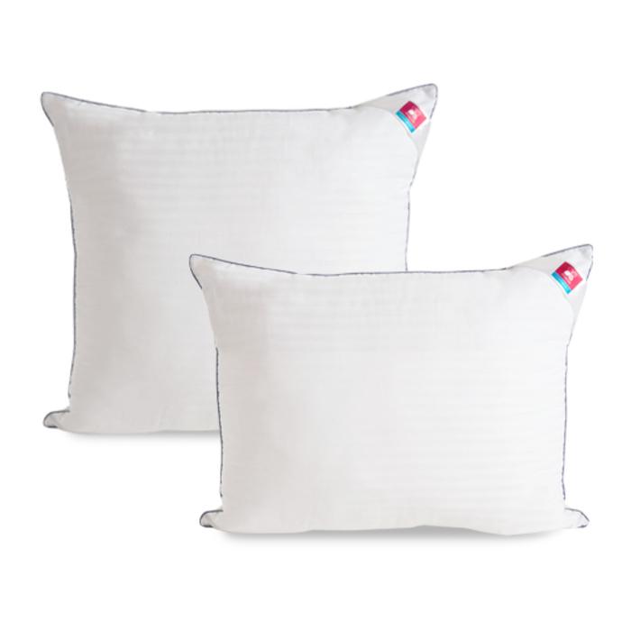 Подушка «Элисон», размер 50 × 68 см, сатин, белый