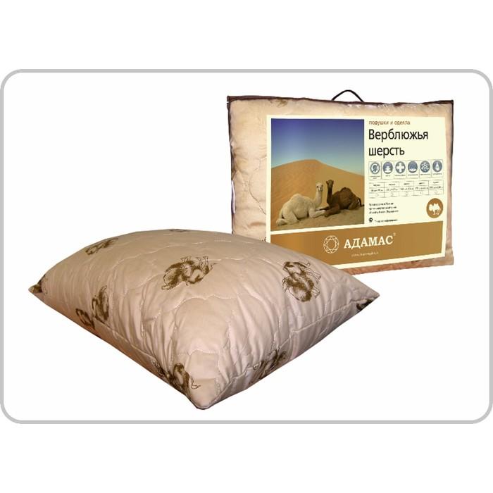 """Подушка Адамас """"Верблюжья шерсть"""", размер 70х70 см, чехол полиэстер"""