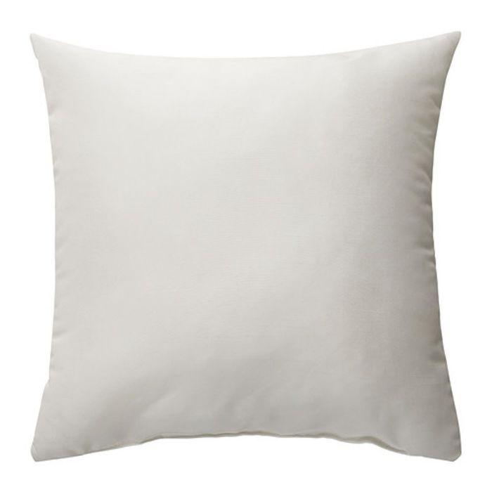 Подушка, КРОНЭРТ, размер 40 × 40 см, белый