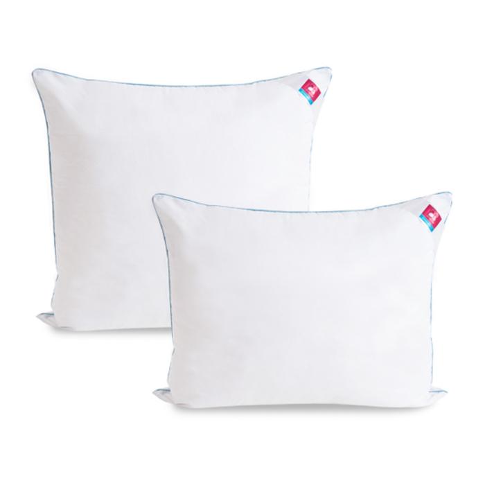 Подушка «Лель», размер 68 × 68 см, тик, белый