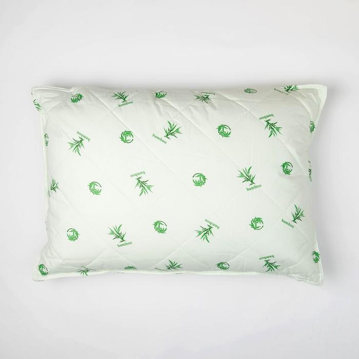 Подушка Миромакс 50х70 см, бамбуковое волокно, тик, хл 100%