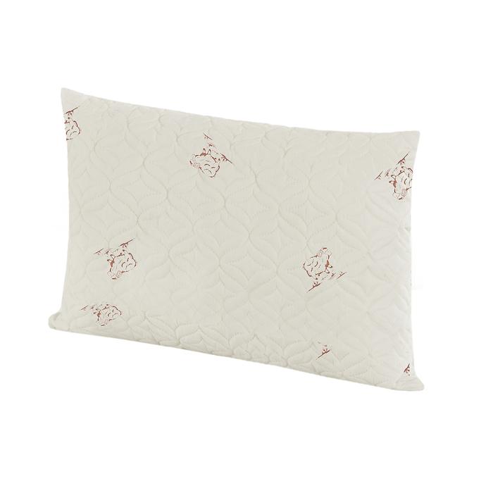 Подушка ультрастеп Овечья шерсть 50x70 см, полиэфирное волокно, пэ 100%
