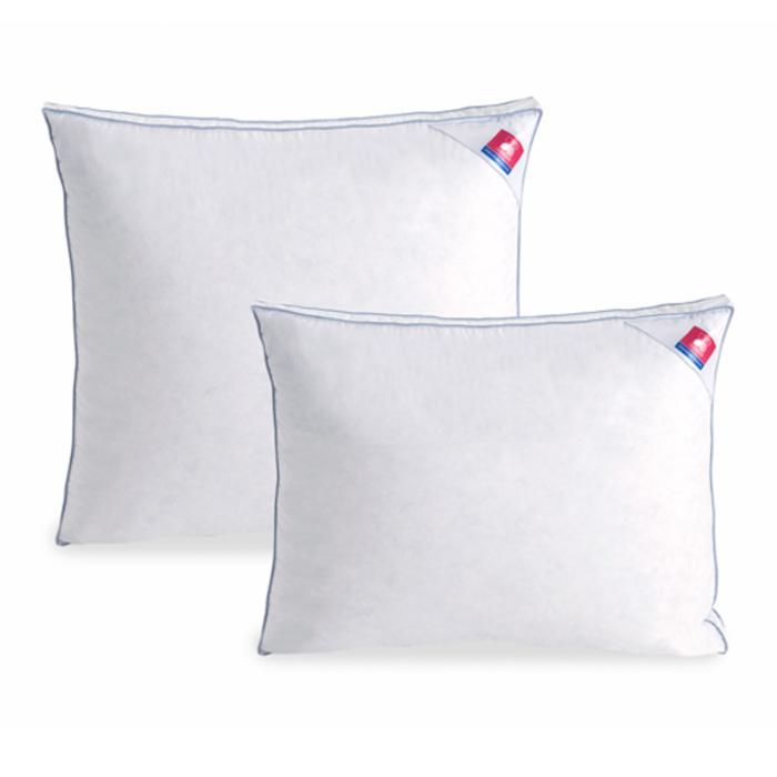 Подушка «Лоретта», размер 68 × 68 см, сатин, белый