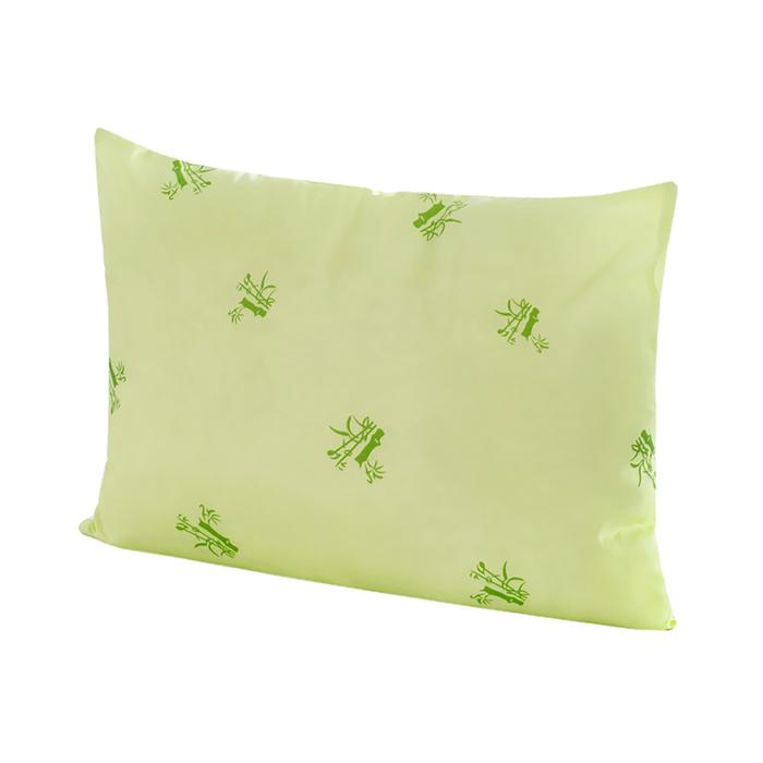 Подушка «Бамбук» ультрастеп 50х70 см, цвет зелёный, полиэфирное волокно, полиэстер 100%