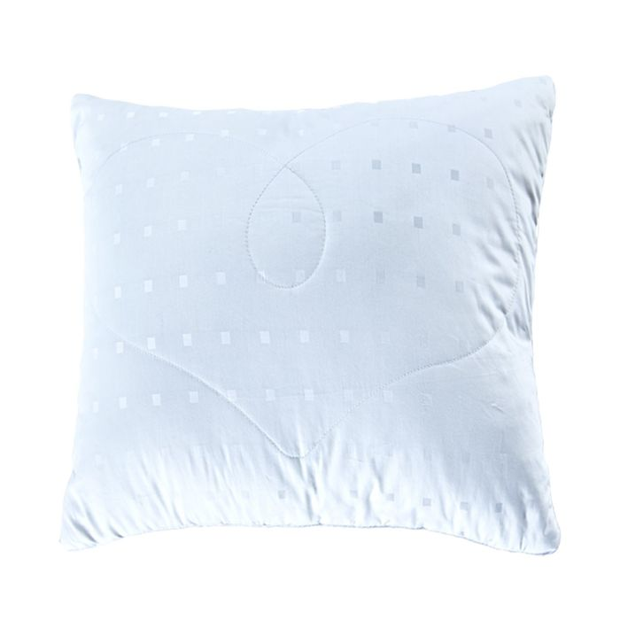 Подушка Silk, размер 68 × 68 см, белый