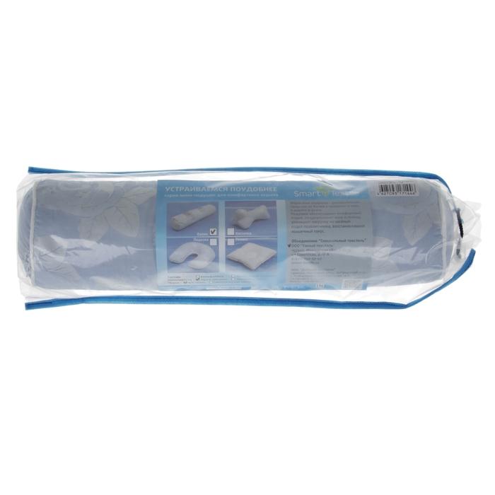 Подушка-валик, размер 10х40 см, смесовая лузга