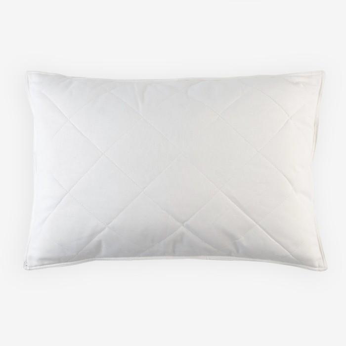 Подушка 50х70 см, овечья шерсть/полиэфирн.волокно, бязь, хл 100%