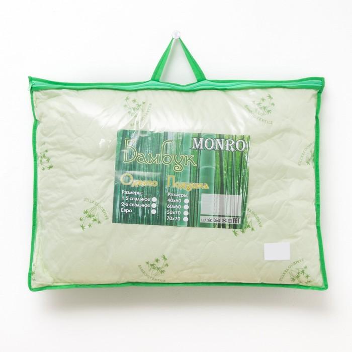 Подушка Бамбук 50х70, пэ ультрастеп, конверт
