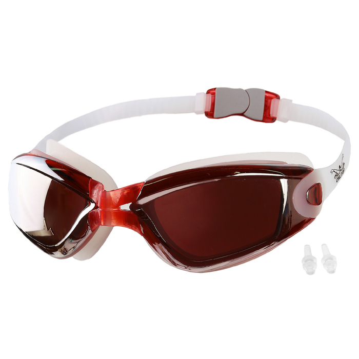 Очки для плавания + беруши BL320M, цвета микс