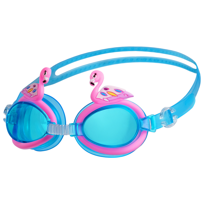 "Очки для плавания, детские ""Фламинго""  МИКС"