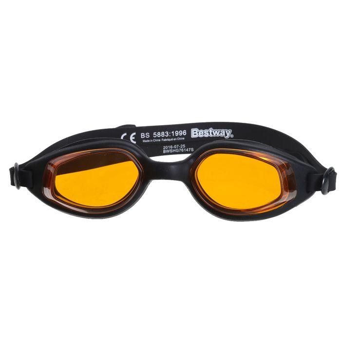 Очки для плавания Accelera, для взрослых, цвет МИКС Bestway