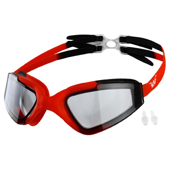 Очки для плавания + беруши BL8600, цвета микс
