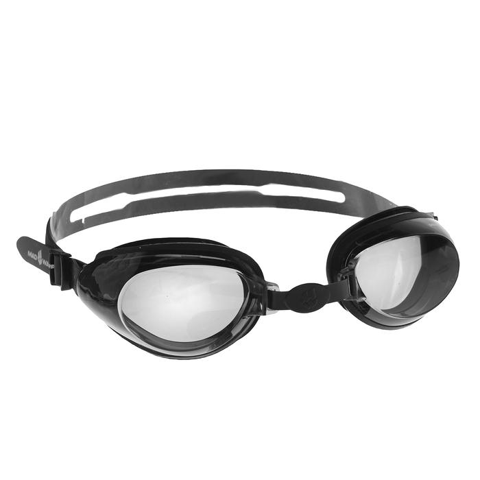 Очки для плавания Raptor, цвет чёрный