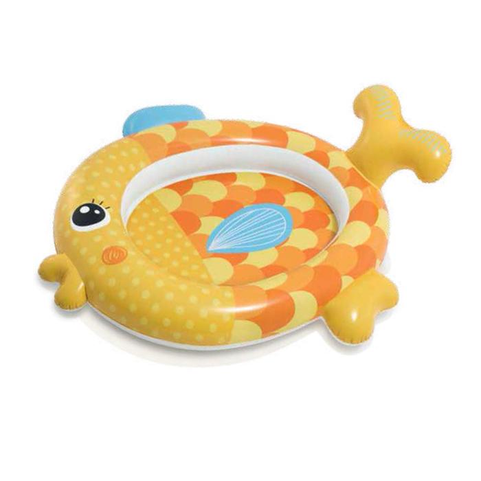 Бассейн надувной детский «Рыбка», 140х124х34см, от 1-3 лет