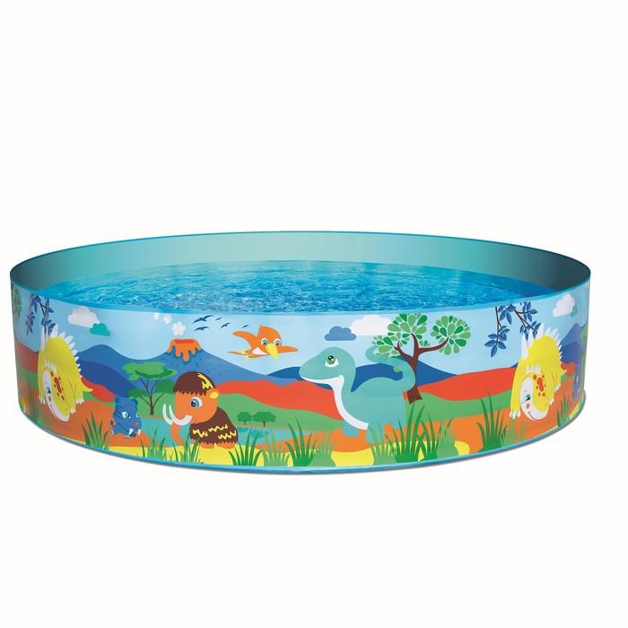 Бассейн надувной Bestway Дикие животные (55022)