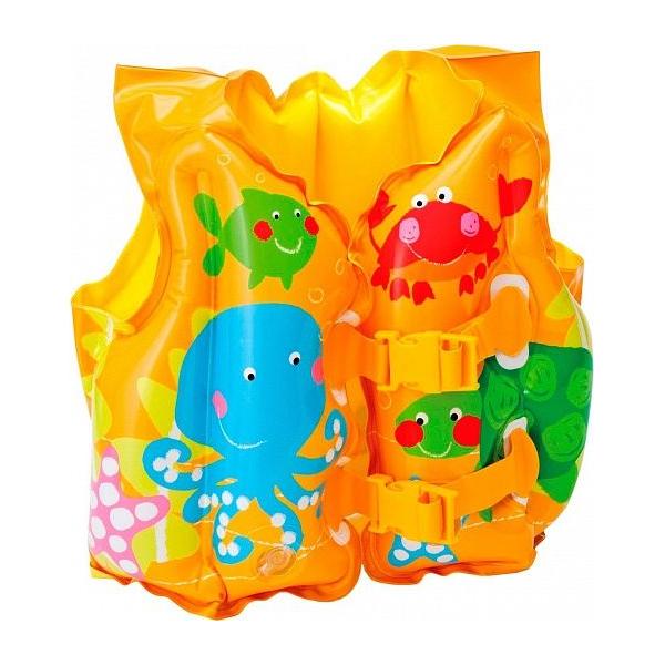 Жилет надувной плавательный Intex Tropical Buddies Swim Vest (59661NP)