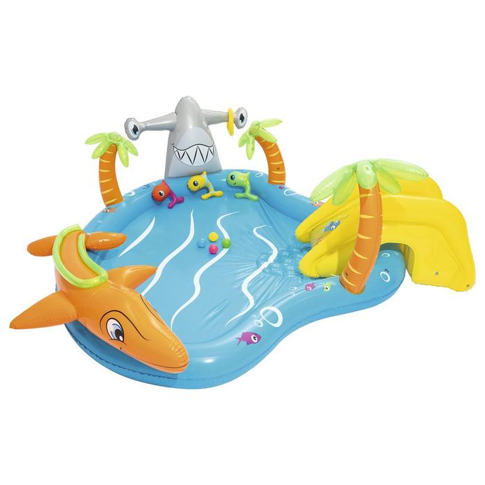 Игровой центр «Морские жители», с игрушками, 280*257*87 см, 273 л., от 2+