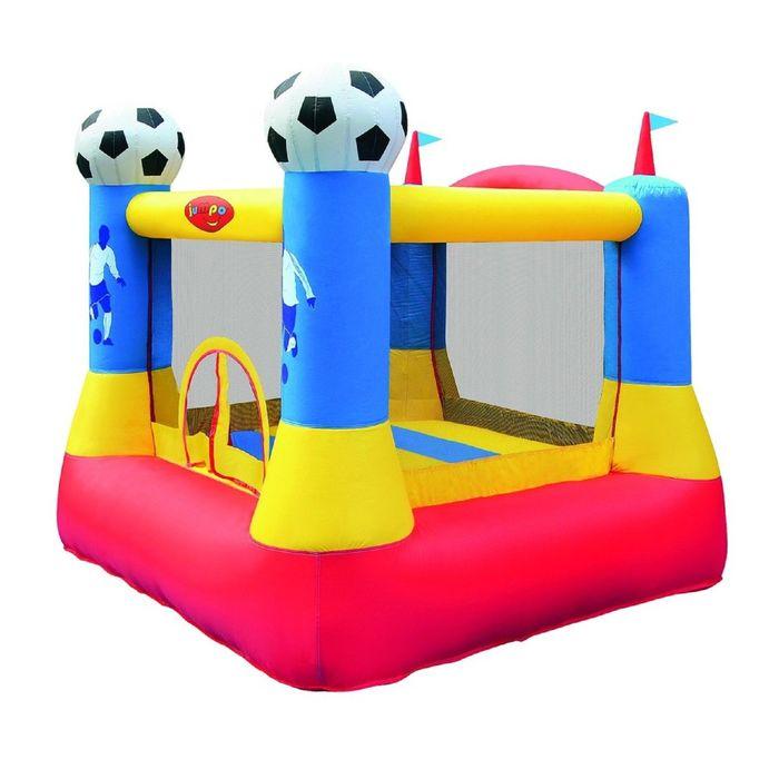 Батут надувной «Замок футболиста»