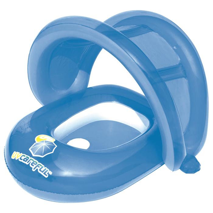 Круг для плавания с сиденьем и тентом от солнца, МИКС Bestway