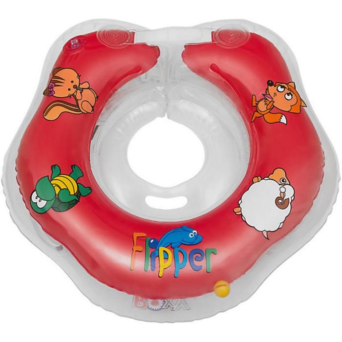 Круг на шею для купания малышей Flipper, цвет МИКС