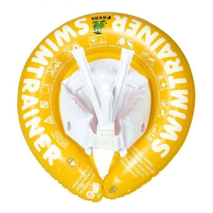 Надувной круг Swimtrainer «Classic», цвет жёлтый, от 4 до 8 лет