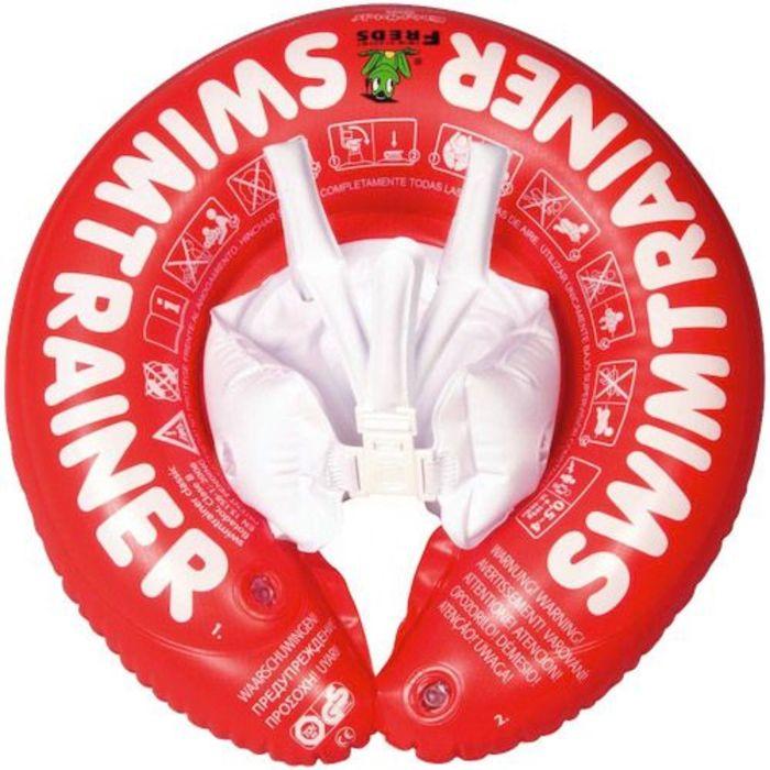 Надувной круг Swimtrainer «Classic», цвет красный, от 3 месяцев до 4 лет