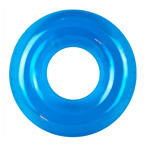 Надувной круг Intex Transparent Tubes возраст 8+ (59260NP) голубой