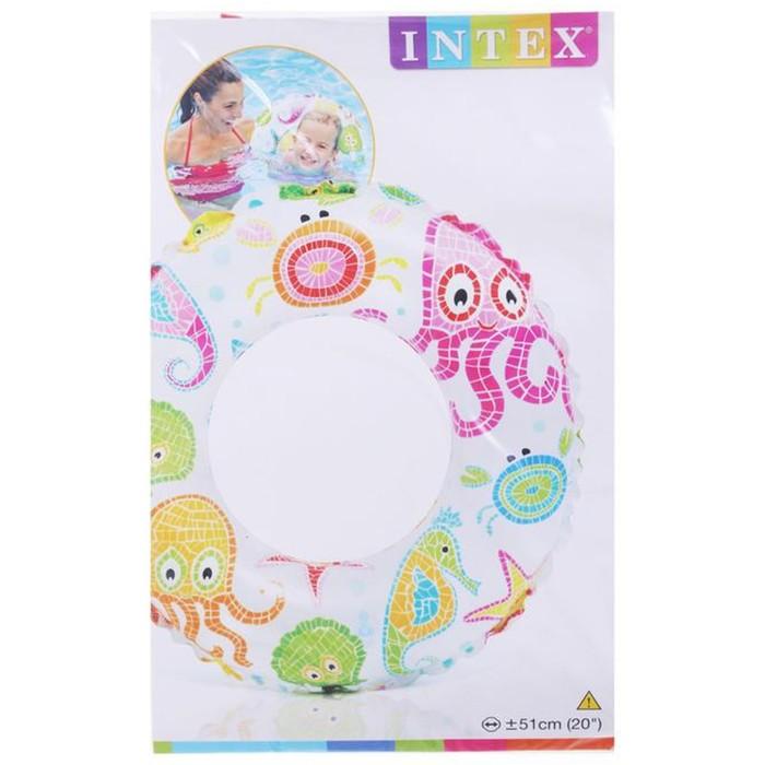 Круг для плавания Intex «Узоры» (59230NP)