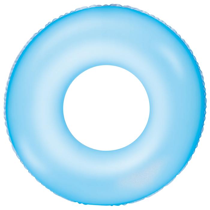Круг надувной для плавания «Неоновый иней», цвет МИКС