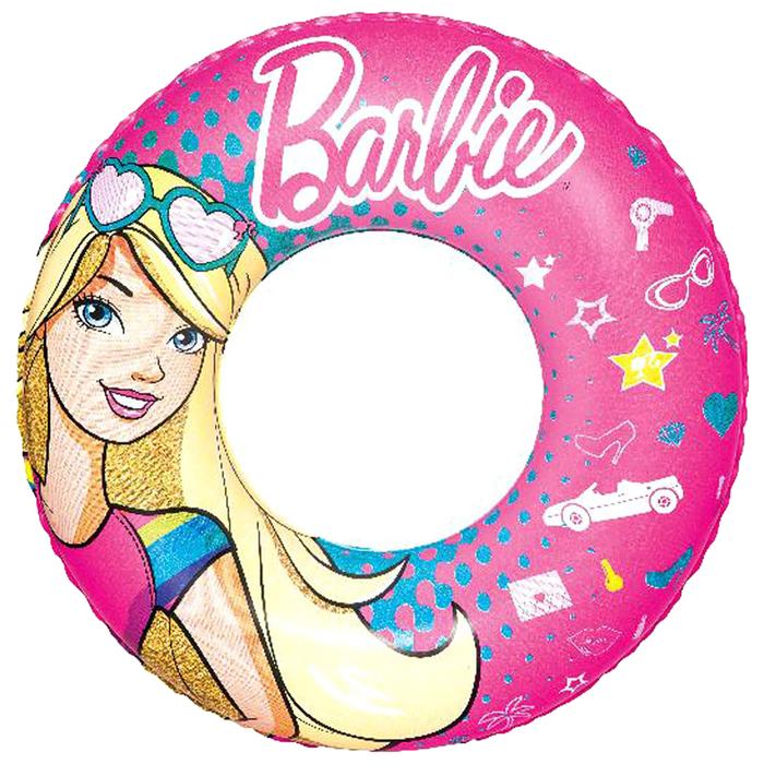 Круг для плавания Barbie 56 см, от 3-6 лет (93202)