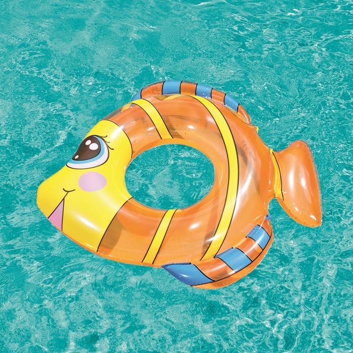 Надувной круг для плавания «Рыбки», от 3-6 лет, МИКС