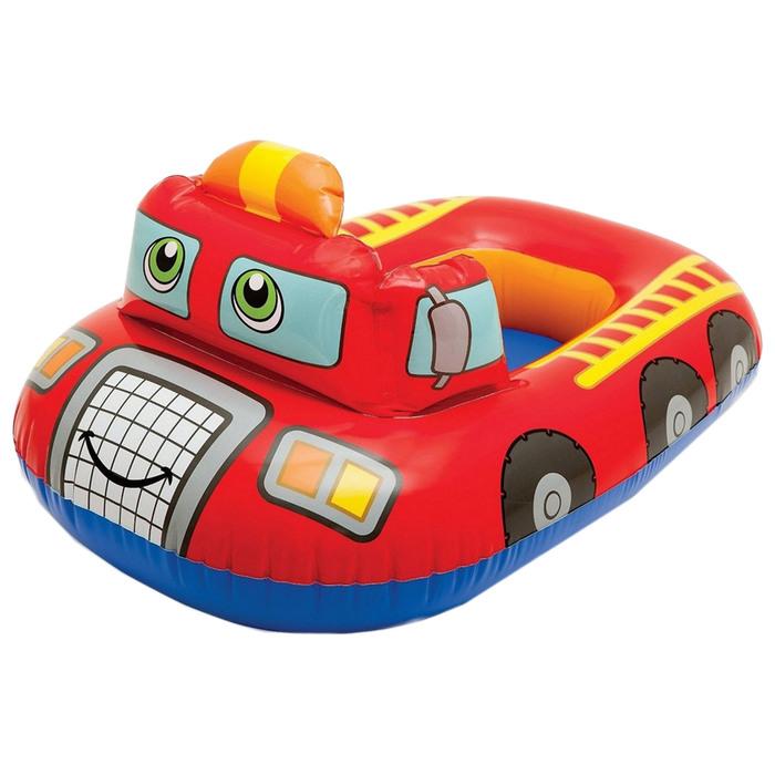 Круг для плавания с сиденьем «Транспорт» 81х72 см, от 1-2 лет, МИКС 59586NP INTEX