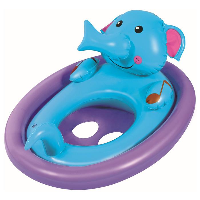 Круг для плавания с сиденьем «Животные», от 1 до 3 лет, цвет МИКС