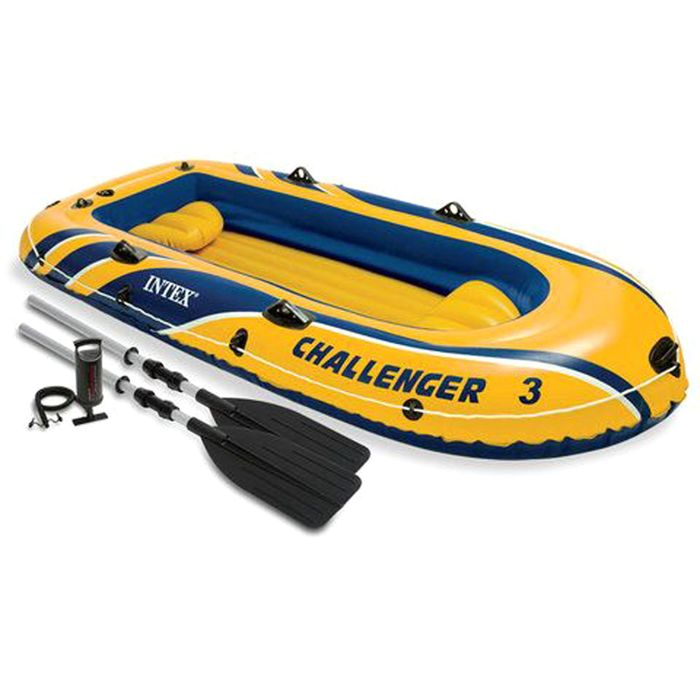 Лодка Challenger 3, трёхместная, до 255 кг, 295х137х43 см