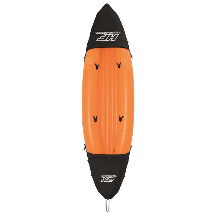 Байдарка Lite-Rapid X2 Kayak 2-х местная (весла 218 см) до 160 кг, 321х88х48 см