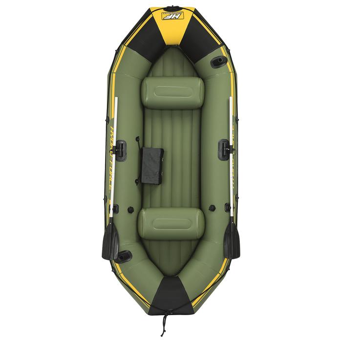 Лодка Marine Pro 3-х мест. (весла 152 см, насос) до 270 кг, 291х127х46 см (65096)