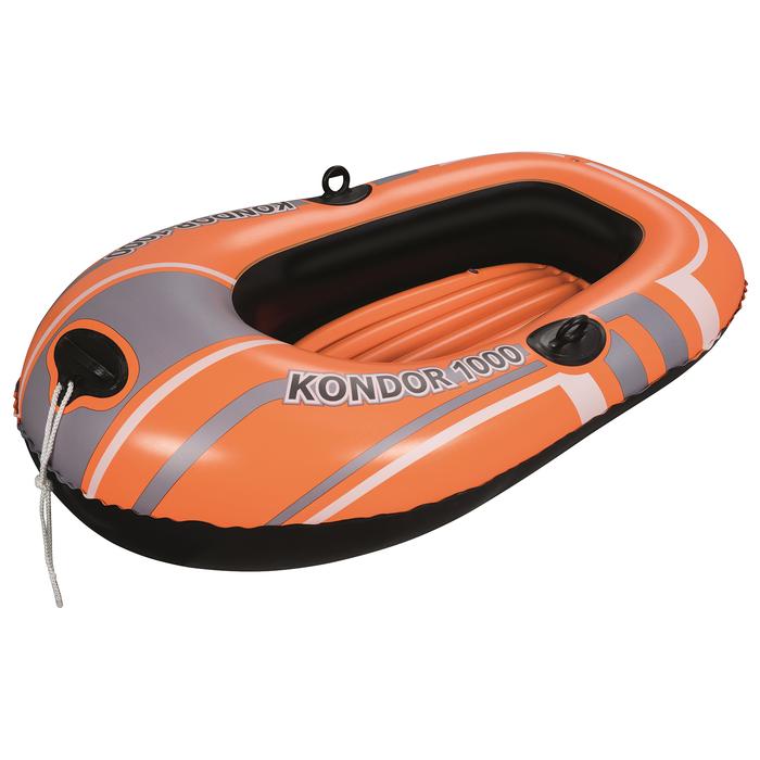 Лодка Kondor 1000 одноместная, до 55 кг, 145х84х35 см, от 6 лет