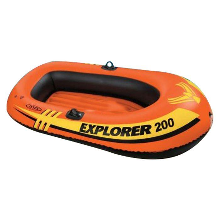 Лодка Explorer 200 двухместная, 185х94х41 см, от 6 лет, до 95 кг 58330NP INTEX