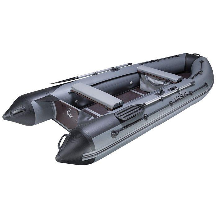 """Лодка моторная """"Адмирал-375 S"""" грузоп. 550 кг, 4-ти местная"""
