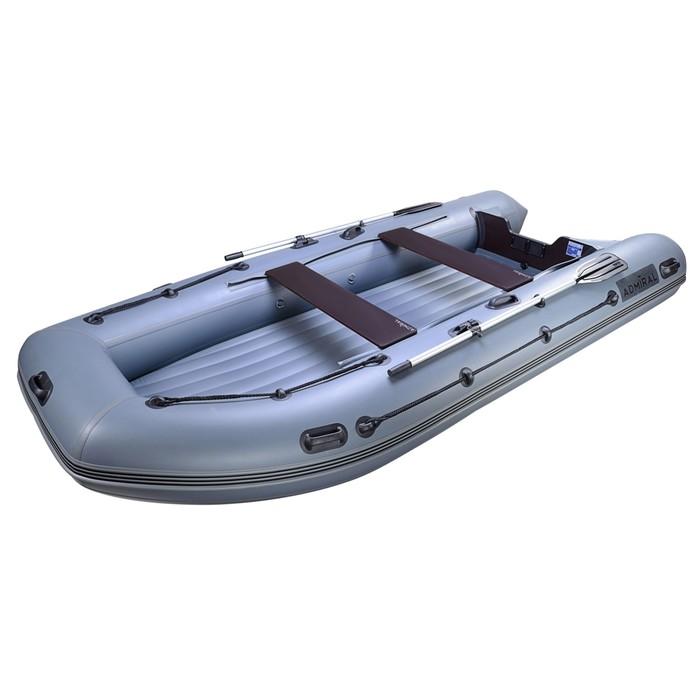 Лодка моторная «Адмирал-410 НД», грузоподъёмность 1050 кг, 7-ми местная