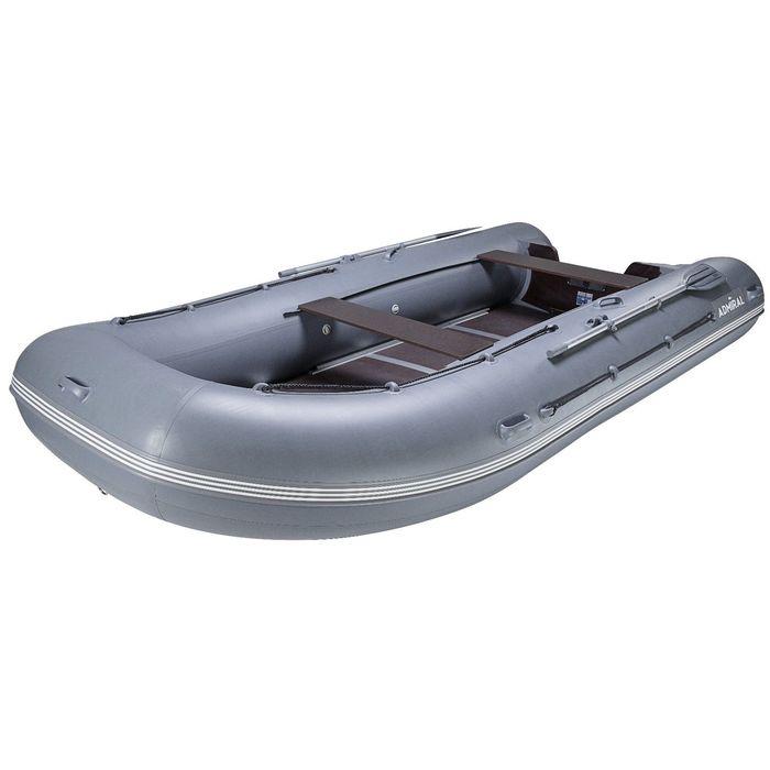 """Лодка моторная """"Адмирал-450"""",грузоп. 1350 кг, 9-ми местная"""