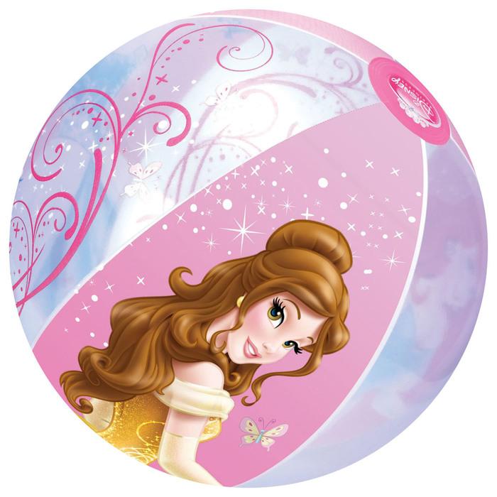 Мяч пляжный Princess 51 см, от 2 лет
