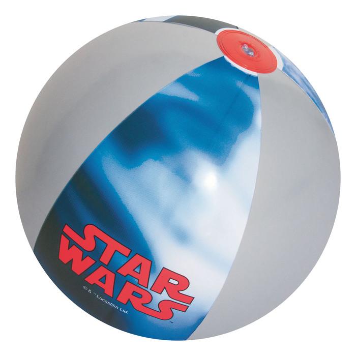 Мяч пляжный 61 см «Звёздные войны» от 2-х лет