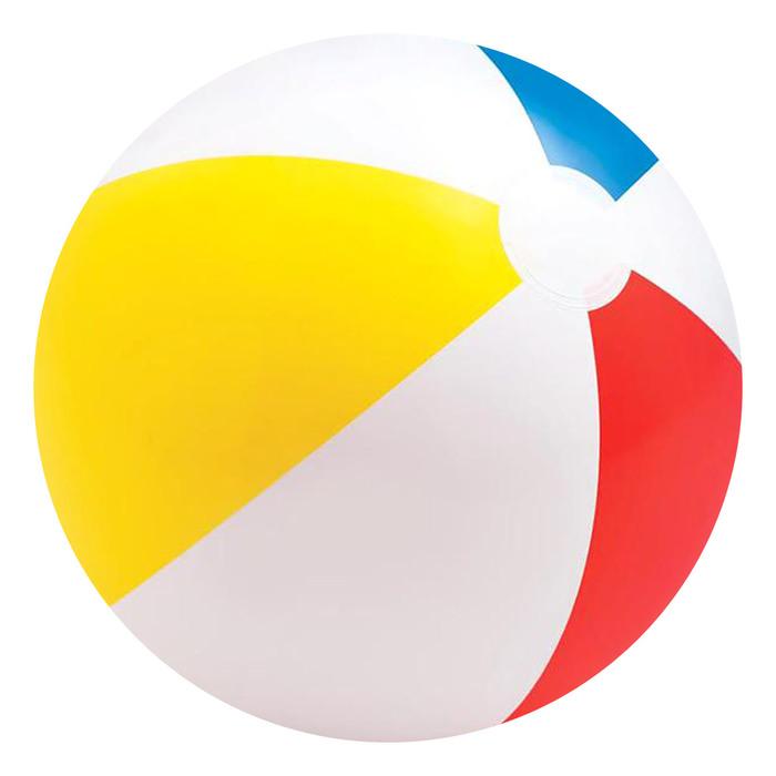 Мяч пляжный «Цветной», d=51 см, от 3 лет 59020NP INTEX