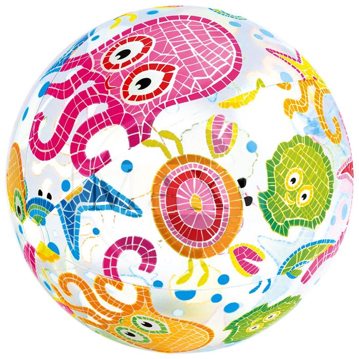 Мяч пляжный Intex «Узоры» (59040NP)