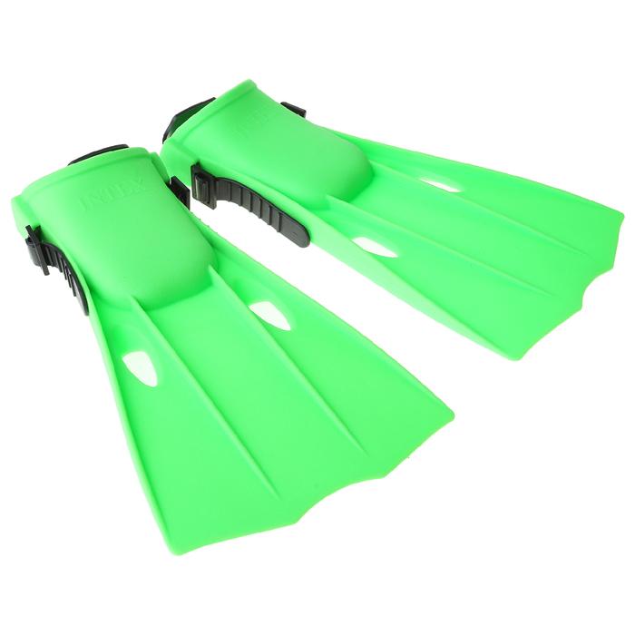 Ласты для плавания, размер 35-37, МИКС INTEX
