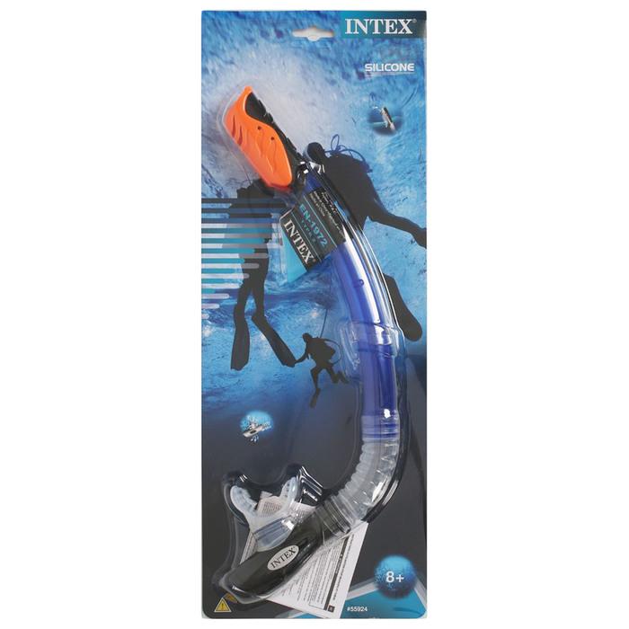 Трубка для плавания PRO Hyper-Flo, от 8 лет INTEX