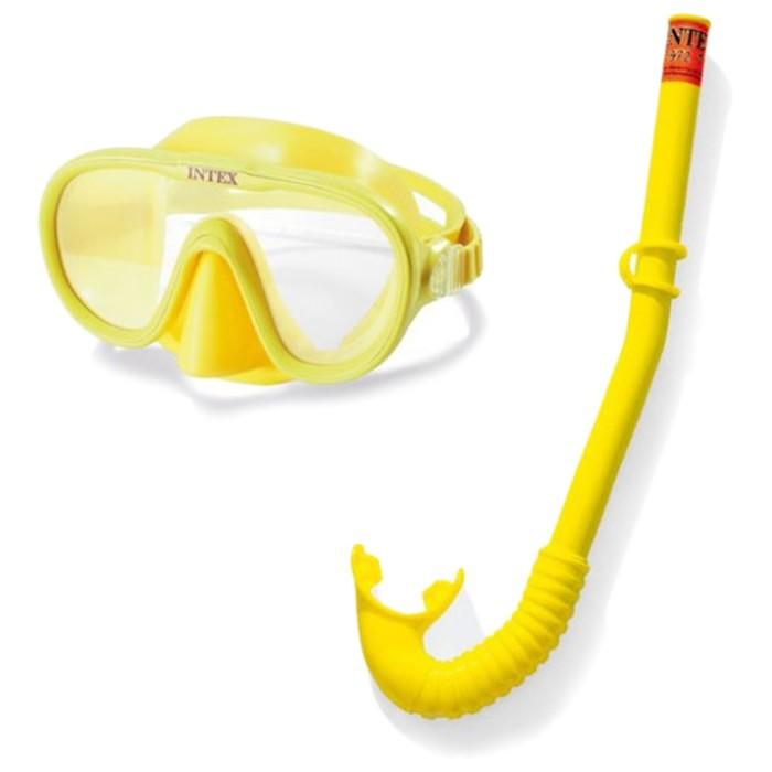 Набор для подводного плавния «Искатель приключений» (маска, трубка) от 8 лет