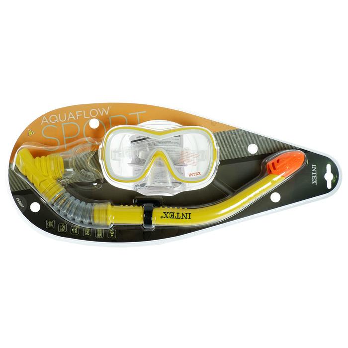Набор для плавания WAVE RIDER (маска, трубка) от 8 лет, 55647