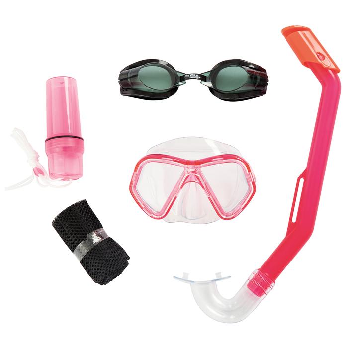 Набор для плавания Lil' Barracuda (маска, очки, трубка)  в ассортименте, от 3 лет (24031)